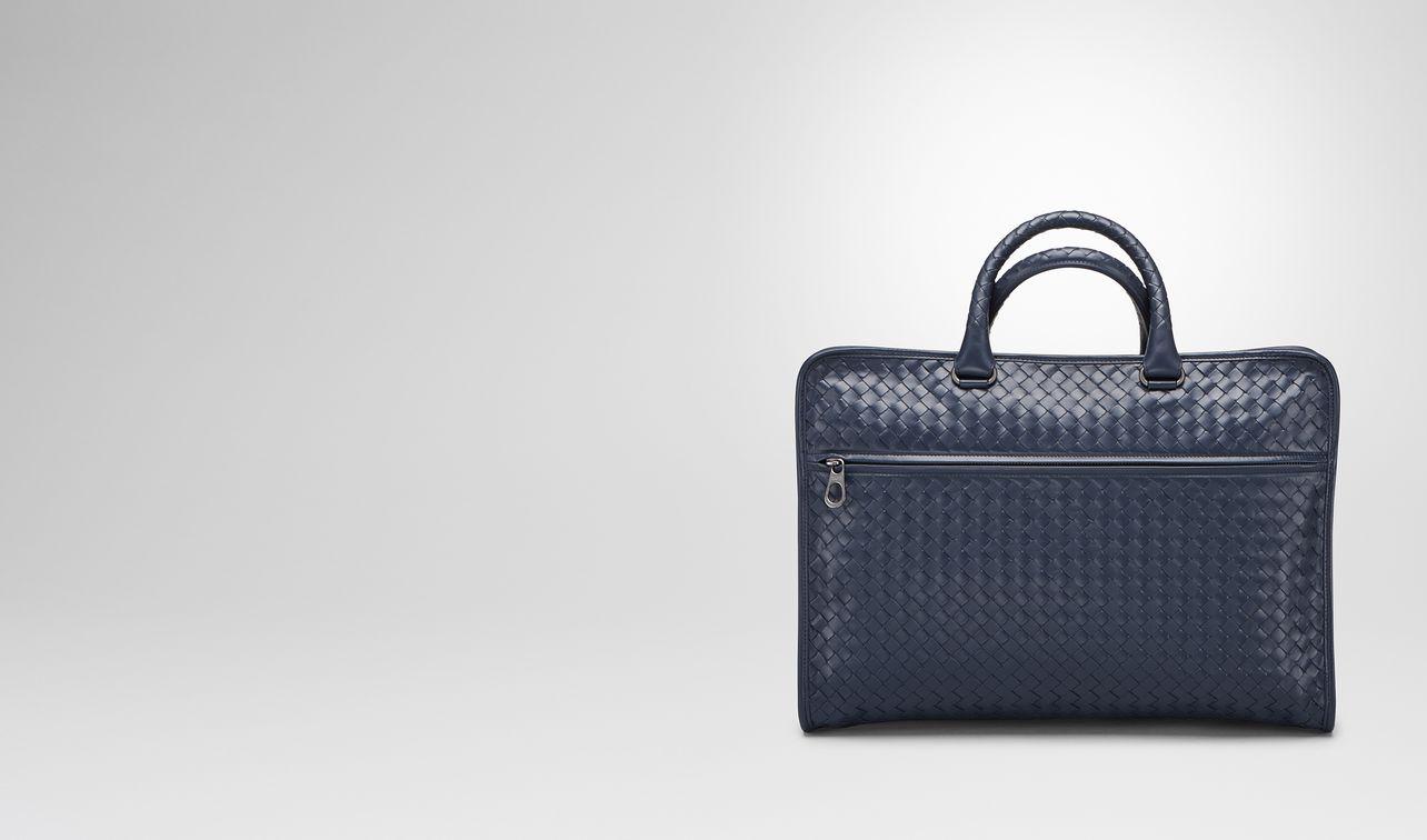 briefcase in prusse intrecciato calf landing