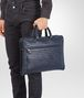 briefcase in prusse intrecciato calf Front Detail Portrait