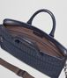 BOTTEGA VENETA BRIEFCASE IN PRUSSE INTRECCIATO CALF Business bag Man dp