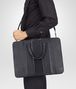 BOTTEGA VENETA BRIEFCASE IN NERO INTRECCIO IMPERATORE Business bag U lp