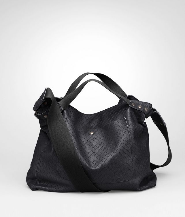 BOTTEGA VENETA Tourmaline Intrecciomirage Lavé Cross Body Messenger Messenger Bag U fp