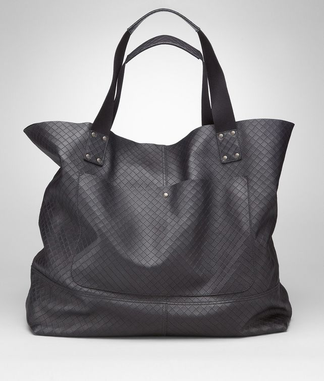 BOTTEGA VENETA TOTE BAG IN TOURMALINE INTRECCIOMIRAGE Tote Bag U fp