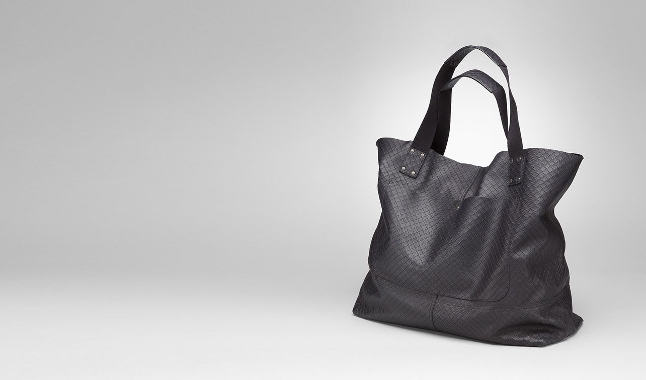 BOTTEGA VENETA Shopper U TOTE BAG AUS INTRECCIOMIRAGE IN TOURMALINE pl