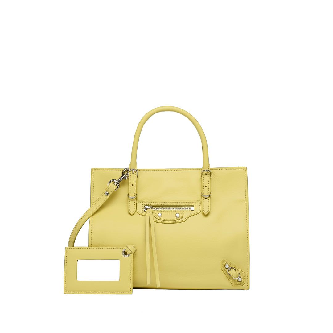 BALENCIAGA Balenciaga Mini Papier A4 Papier Veau Souple Handbag D f