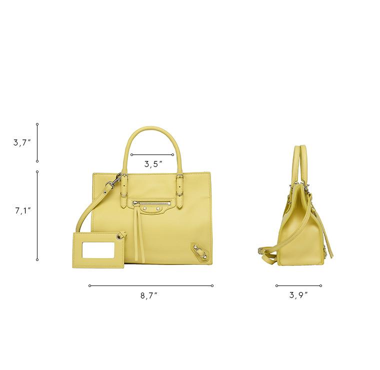 BALENCIAGA Papier Veau Souple Handbag D Balenciaga Mini Papier A4 n