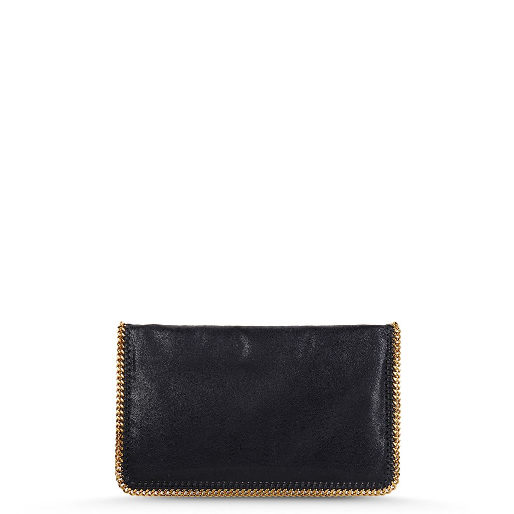 Clutch Fold Over Falabella en Shaggy Deer - STELLA MCCARTNEY