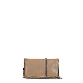 STELLA McCARTNEY Borse a Spalla Falabella D Falabella Cross Body in Chamois f