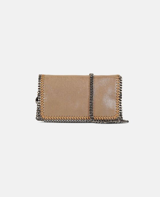 STELLA McCARTNEY Falabella Chamois Cross Body Bag Falabella Shoulder bags D c