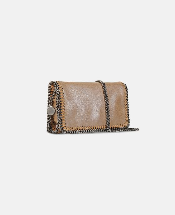 STELLA McCARTNEY Falabella Chamois Cross Body Bag Falabella Shoulder bags D h