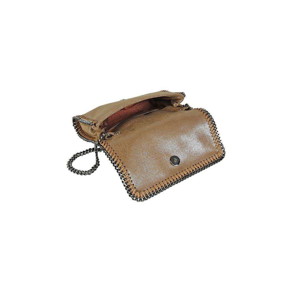 Falabella Chamois Cross Body Bag  - STELLA MCCARTNEY