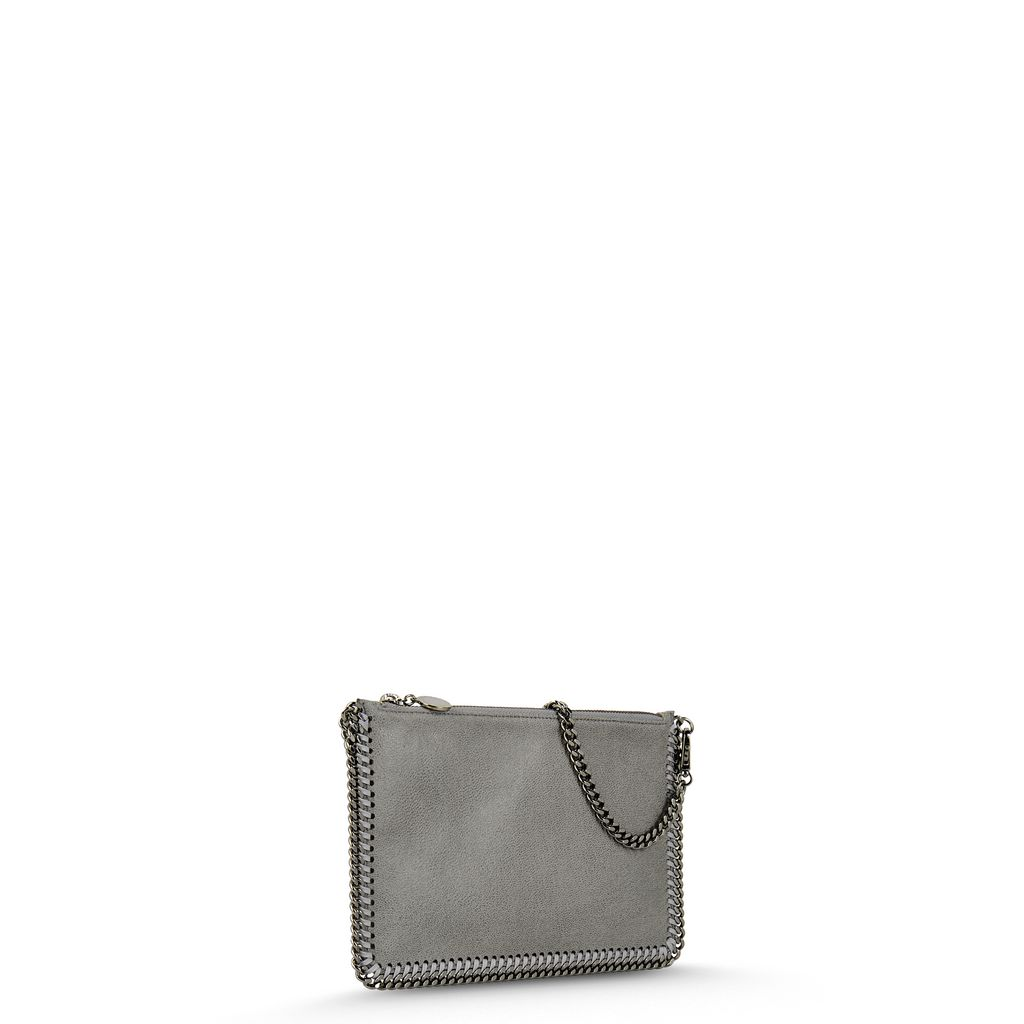 Pochette Falabella Piccola in Shaggy Deer  - STELLA MCCARTNEY