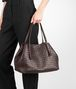 BOTTEGA VENETA Shopper Ebano in Nappa Intrecciata Borsa Shopping D ap