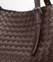 BOTTEGA VENETA Shopper Ebano in Nappa Intrecciata Borsa Shopping D ep