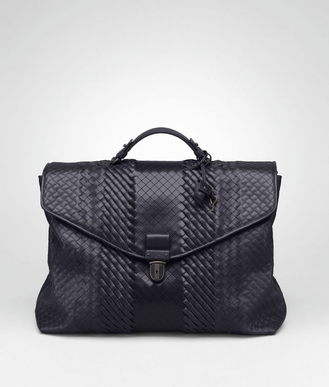 BOTTEGA VENETA Tourmaline Intreccio Imperatore Briefcase Business bag U fp