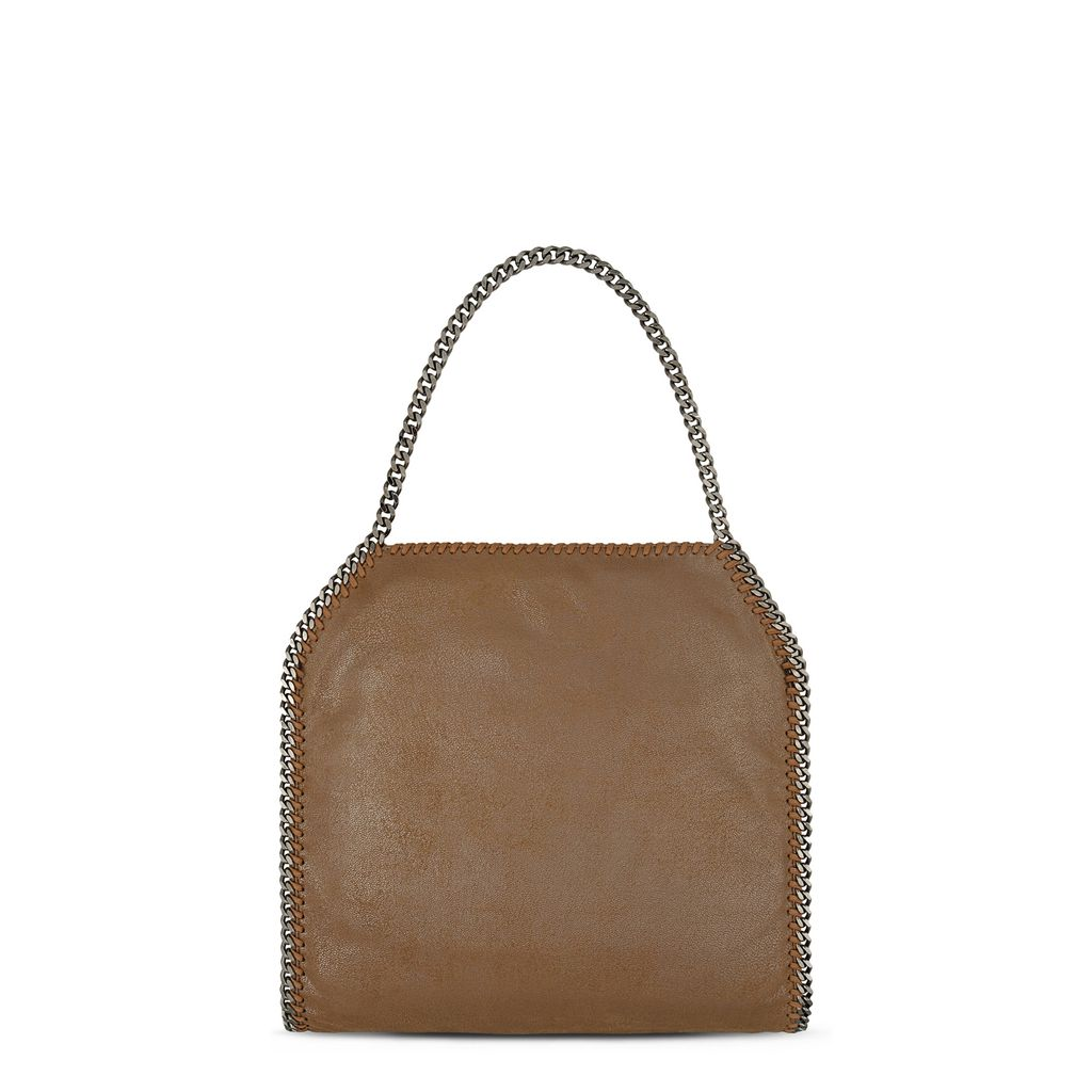 Falabella Small Tote in Chamois  - STELLA MCCARTNEY