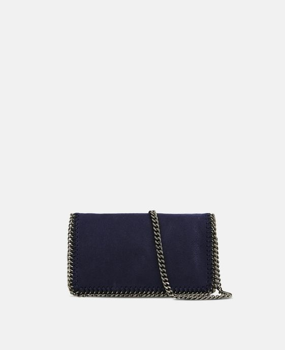 Navy Falabella Cross Body Bag