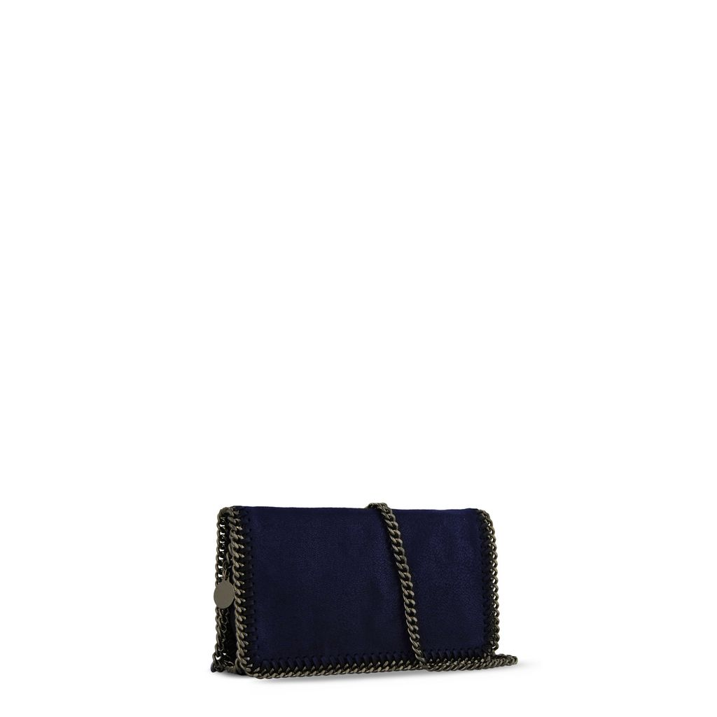 Navy Falabella Cross Body Bag  - STELLA MCCARTNEY