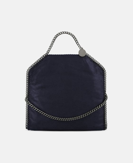 STELLA McCARTNEY Tote Bag Falabella Fold Over en Shaggy Deer Tote bag D c