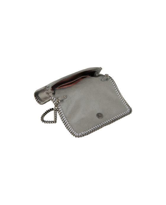 STELLA McCARTNEY Light Grey Falabella Cross Body Bag Falabella Shoulder bags D g