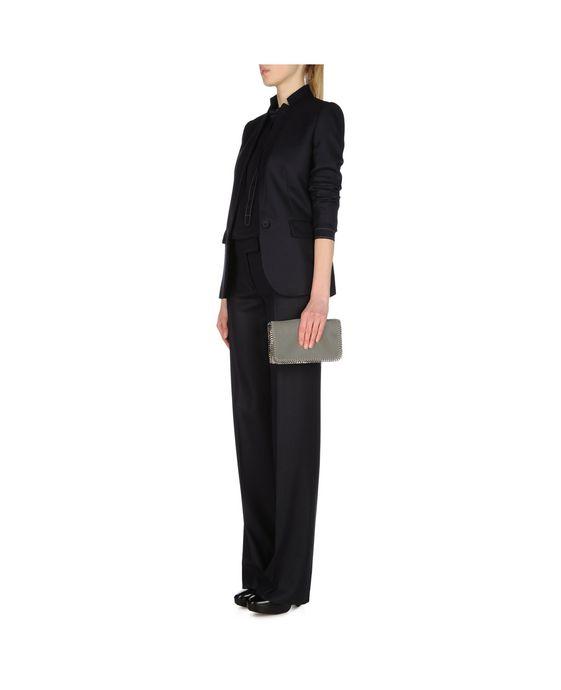 STELLA McCARTNEY Light Grey Falabella Cross Body Bag Falabella Shoulder bags D p