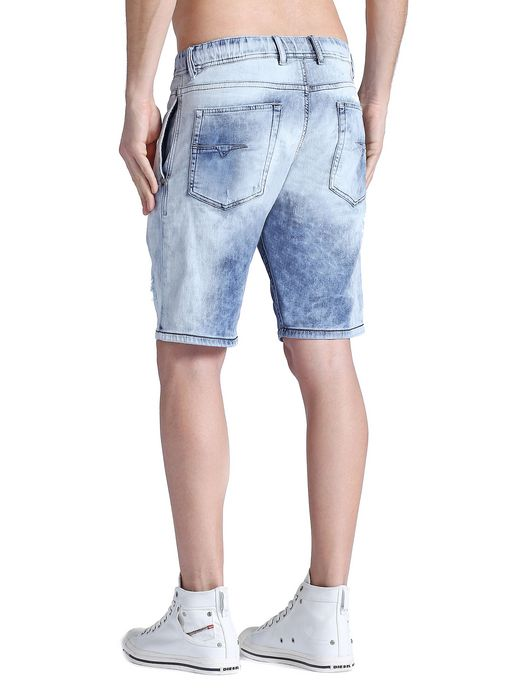 DIESEL DEE-NEE JOOGJEANS Shorts U a