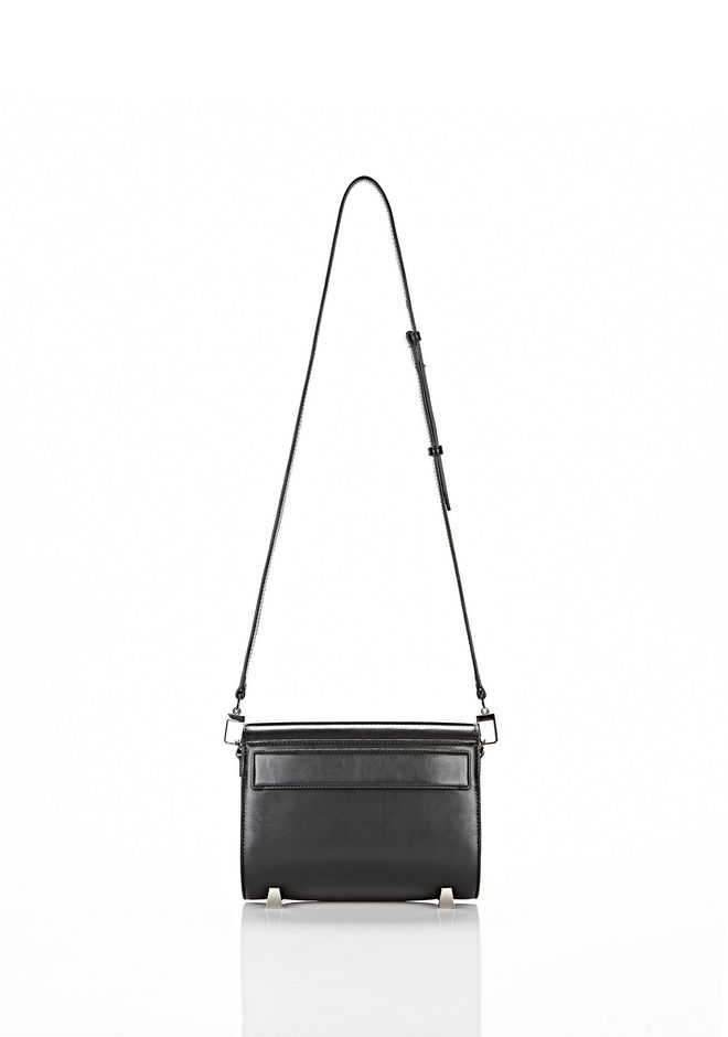 ALEXANDER WANG CHASTITY IN BLACK WITH RHODIUM Shoulder bag Adult 12_n_d