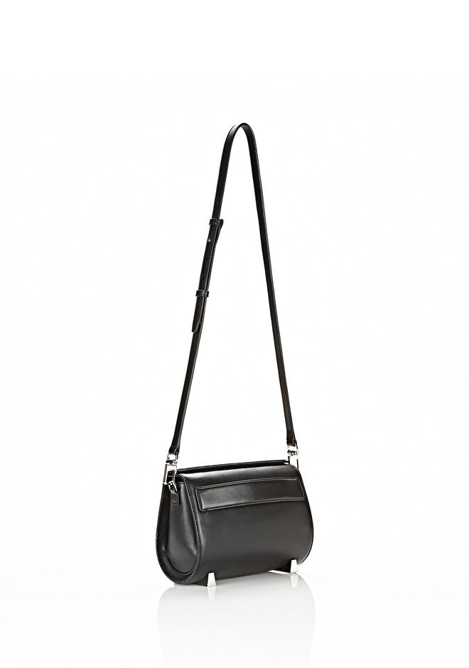 ALEXANDER WANG CHASTITY IN BLACK WITH RHODIUM Shoulder bag Adult 12_n_e