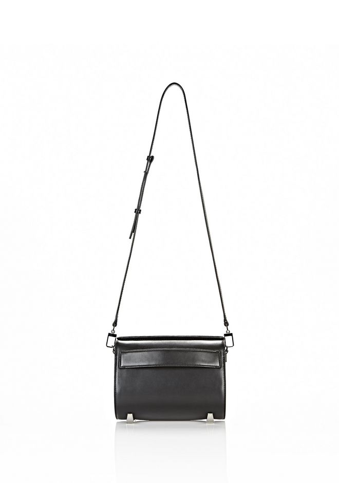 ALEXANDER WANG CHASTITY IN BLACK WITH RHODIUM Shoulder bag Adult 12_n_f