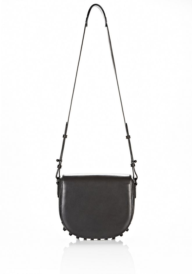 ALEXANDER WANG EXCLUSIVE LIA VAULT IN EMBOSSED BLACK WITH MATTE BLACK Shoulder bag Adult 12_n_f