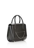 ALEXANDER WANG LARGE CHASTITY IN BLACK WITH RHODIUM  TOTE/DEL Adult 8_n_e