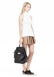 ALEXANDER WANG PRISMA SKELETAL BACKPACK IN SOFT BLACK WITH ROSE GOLD BACKPACK Adult 8_n_a