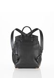 ALEXANDER WANG PRISMA SKELETAL BACKPACK IN SOFT BLACK WITH ROSE GOLD BACKPACK Adult 8_n_d