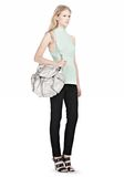 ALEXANDER WANG MARTI IN RHODIUM WITH NICKEL BACKPACK Adult 8_n_r