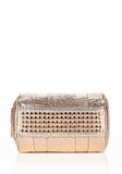 ALEXANDER WANG ROCCO IN PEBBLED ROSE GOLD METALLIC WITH ROSE GOLD Shoulder bag Adult 8_n_d