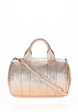 ALEXANDER WANG ROCCO IN PEBBLED ROSE GOLD METALLIC WITH ROSE GOLD Shoulder bag Adult 8_n_f