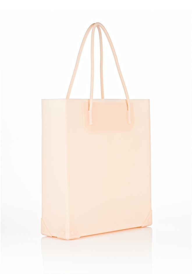ALEXANDER WANG PRISMA MOLDED TOTE IN ROSE TOTE/DEL Adult 12_n_e