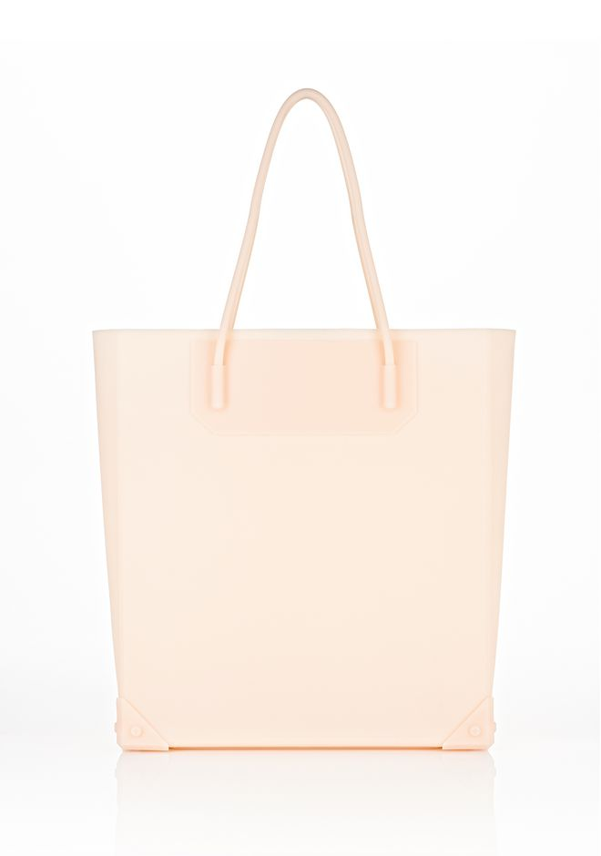 ALEXANDER WANG PRISMA MOLDED TOTE IN ROSE TOTE/DEL Adult 12_n_f