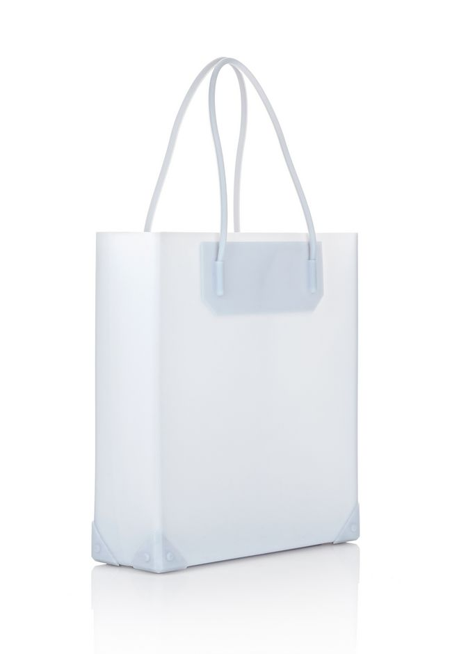 ALEXANDER WANG PRISMA MOLDED TOTE IN ICING TOTE/DEL Adult 12_n_e