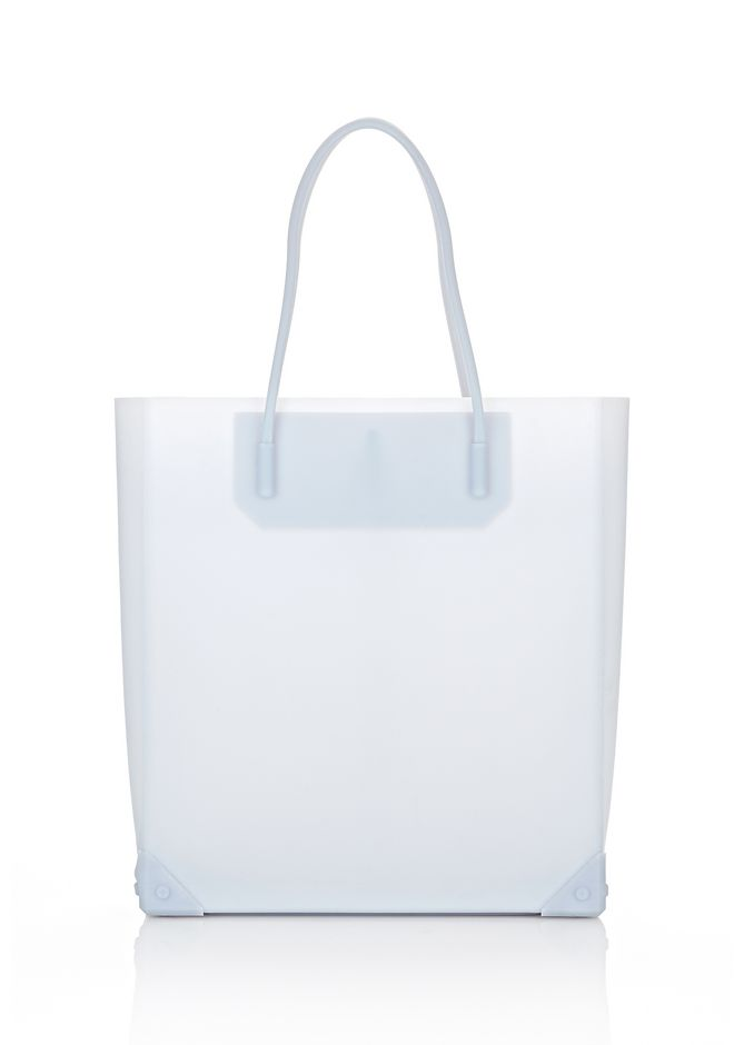 ALEXANDER WANG PRISMA MOLDED TOTE IN ICING TOTE/DEL Adult 12_n_f