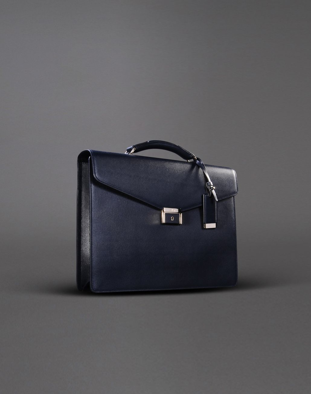 BRIONI BRIEFCASE SINGLE GUSSET Leather Goods U d