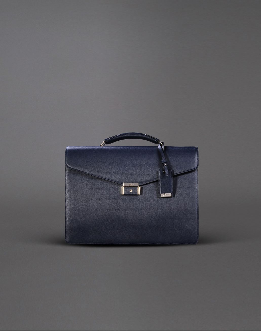 BRIONI BRIEFCASE SINGLE GUSSET Leather Goods U f