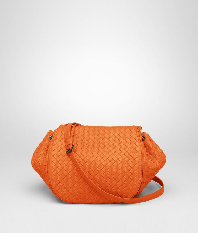 BOTTEGA VENETA Tangerine Intrecciato Nappa Cross Body Bag Crossbody bag D fp
