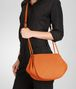 BOTTEGA VENETA Tangerine Intrecciato Nappa Cross Body Bag Crossbody bag D ap