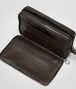 BOTTEGA VENETA EBANO INTRECCIATO VN DOCUMENT CASE Small bag U lp