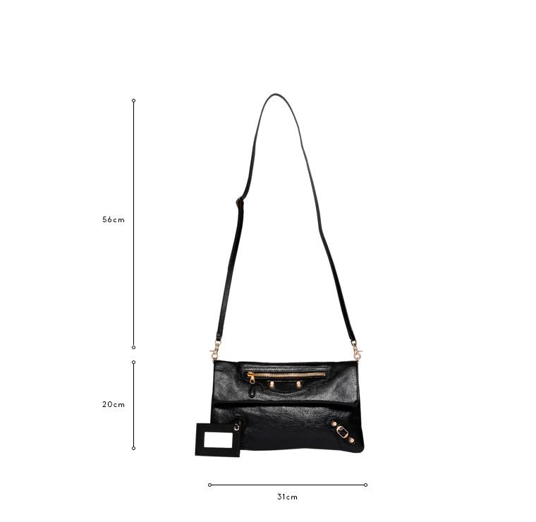 BALENCIAGA Messenger Bag D Balenciaga Giant 12 Envelope Strap Gold c