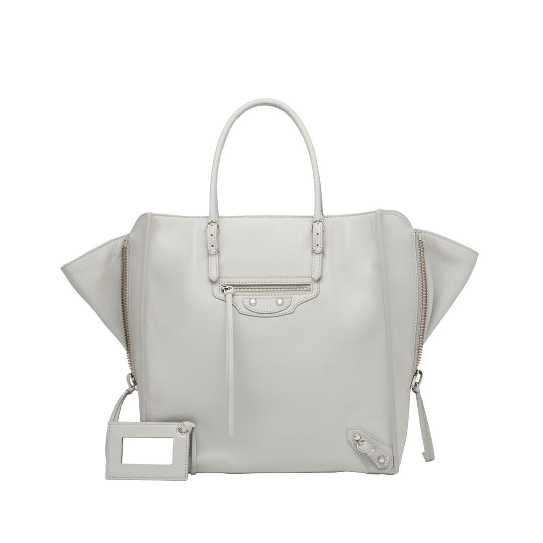 BALENCIAGA Balenciaga Papier A5 Zip Around Tote Bag D f