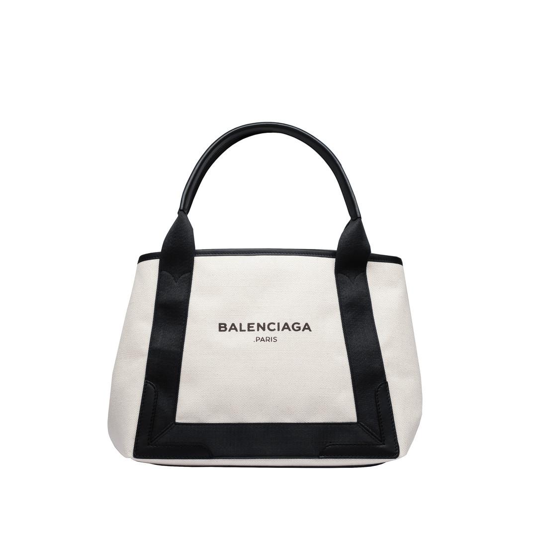 BALENCIAGA Navy Cabas S Navy Handbag D f