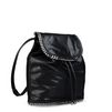 STELLA McCARTNEY Black Falabella Shaggy Deer Backpack Shoulder Bag D r