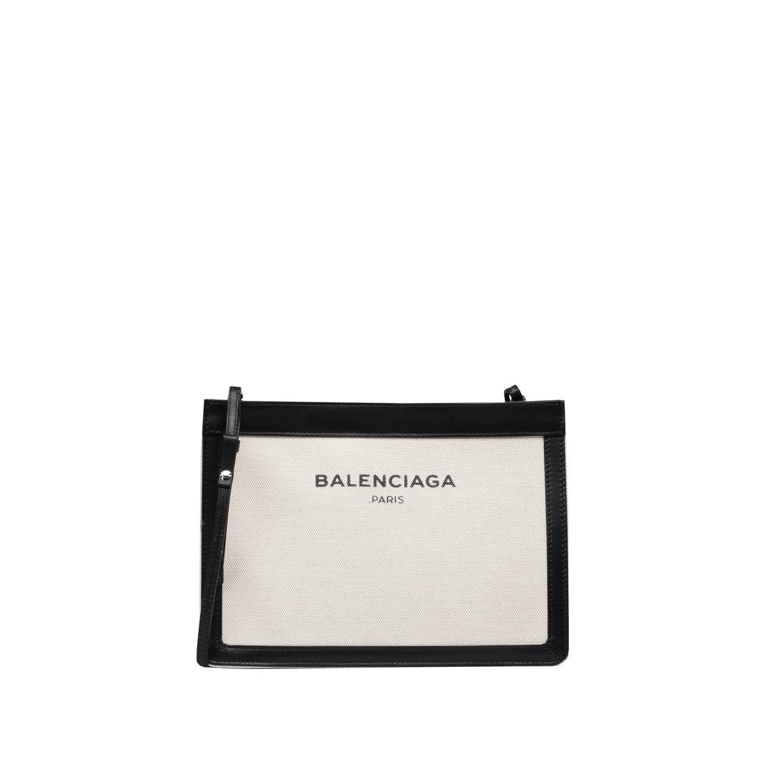 BALENCIAGA Navy Pochette Navy Handbag D f