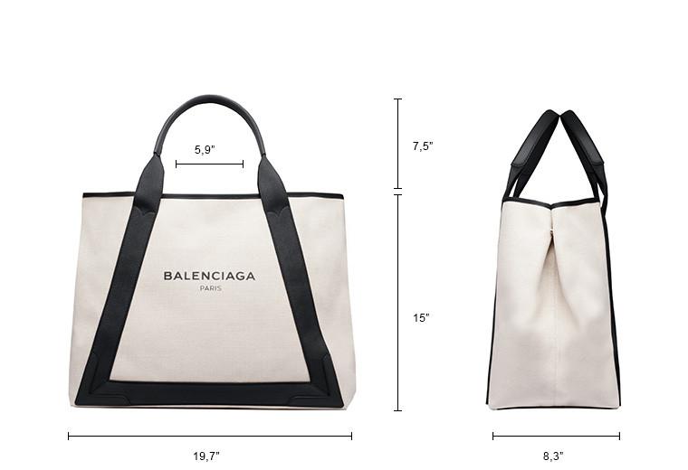 BALENCIAGA Navy Handbag D Navy Cabas M n